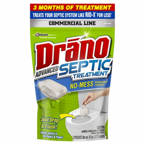 Drano® Advanced Septic Treatment Perspective: front