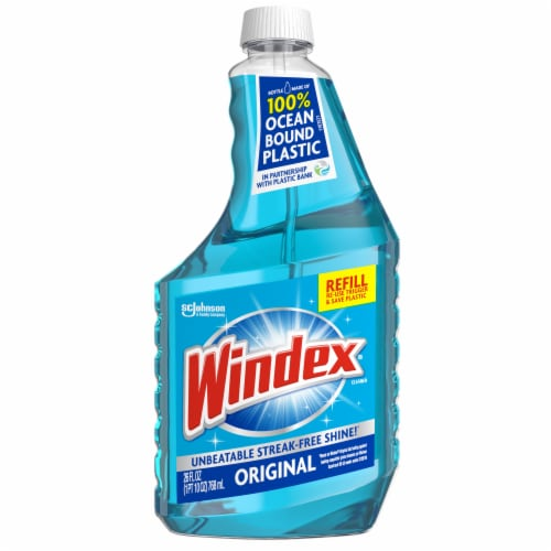 Windex Original Glass Cleaner Refill Perspective: front