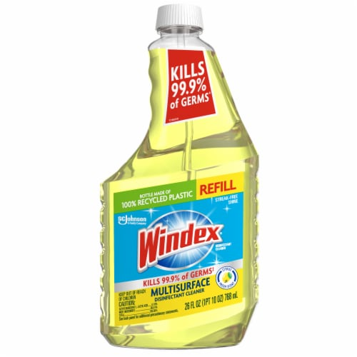 Windex Multi-Surface Citrus-Scented Disinfectant Cleaner Refill Perspective: front
