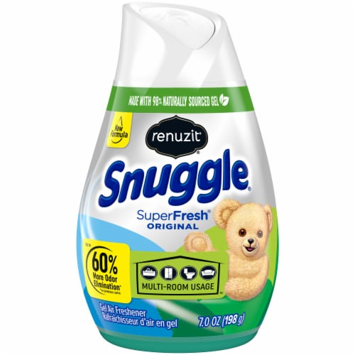 Renuzit Snuggle SuperFresh Original Odor Neutralizer Gel Air Freshener Perspective: front
