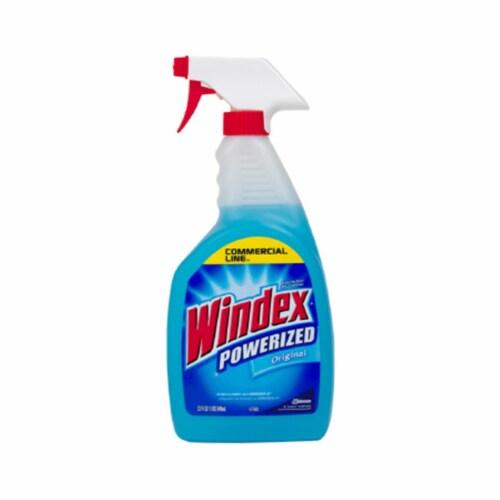 Windex  Original  No Scent Glass Cleaner  32 oz. Liquid - Case Of: 12; Perspective: front