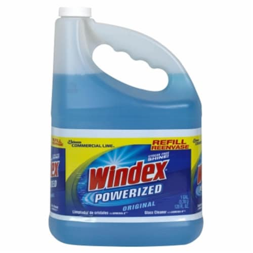 Windex 1 Gal. Commercial Line Glass & Surface Cleaner 12207 Perspective: front