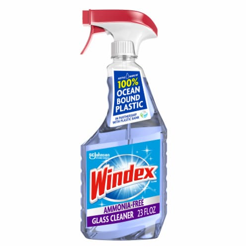 Windex Crystal Rain Glass Cleaner Perspective: front