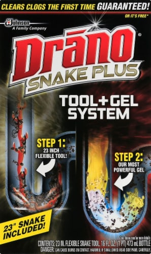Drno Snake Plus Tool & Gel System Perspective: front
