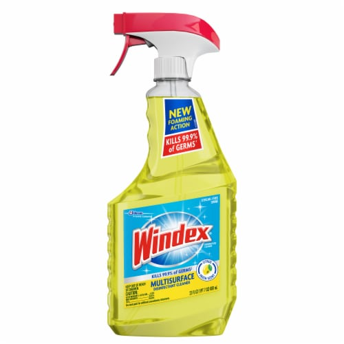 Windex Citrus Fresh Multi-Surface Disinfectant Cleaner Perspective: front