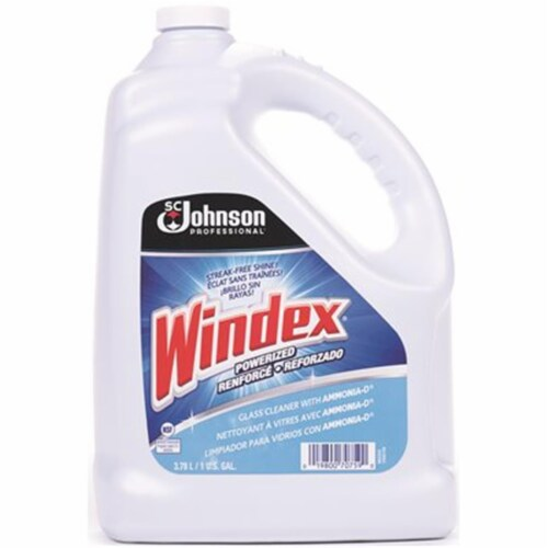 Windex Glass Cleaner with Ammonia-D, 1 Gal Bottle 696503EA Perspective: front