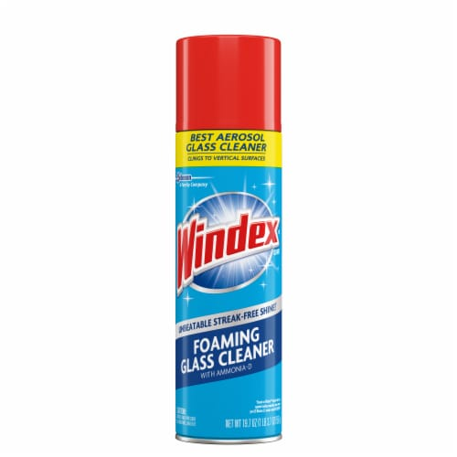 Windex Foaming Glass Cleaner Perspective: front