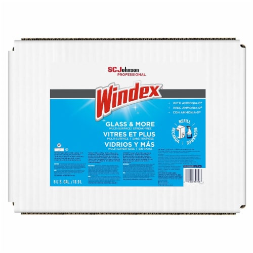 Windex Glass Cleaner,Bag-in-Box,5 gal.  696502 Perspective: front
