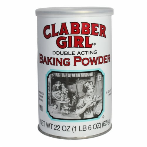 Clabber Girl Double Acting Baking Powder Perspective: front