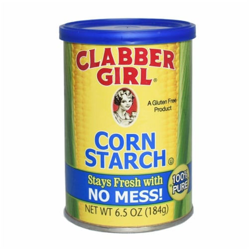 Clabber Girl Corn Starch Perspective: front