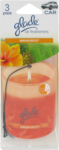 Glade Hawaiian Breeze Car Air Fresheners Perspective: front