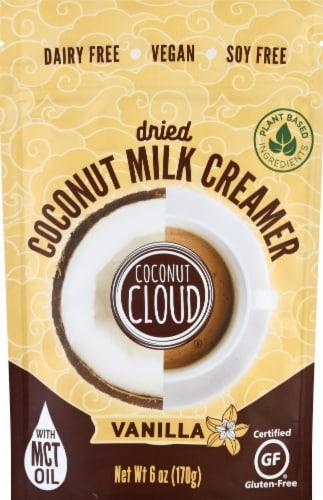 Coconut Cloud Dairy Free Vanilla Dried Coconut Milk Creamer Perspective: front