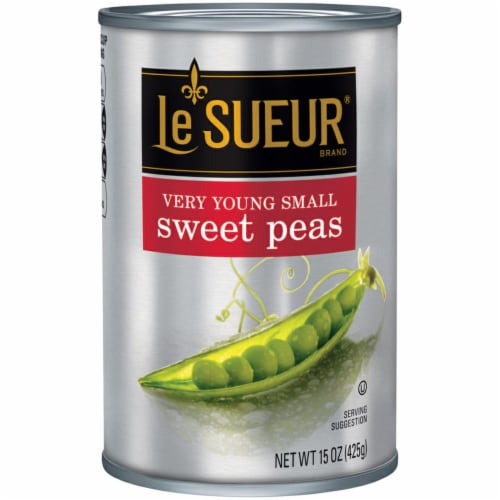 Le Sueur Very Young Small Sweet Peas Perspective: front
