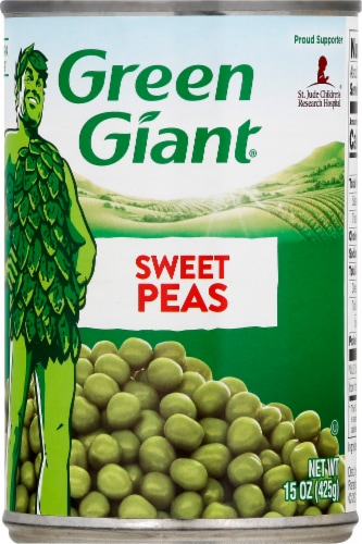 Green Giant Sweet Peas Perspective: front