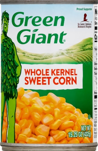 Green Giant Whole Kernel Sweet Corn Perspective: front