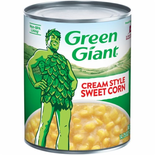 Green Giant Cream Style Sweet Corn Perspective: front