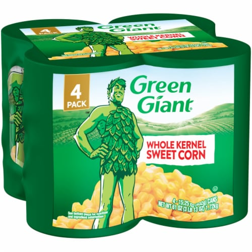 Green Giant Whole Kernal Sweet Corn - 4 Pack Perspective: front