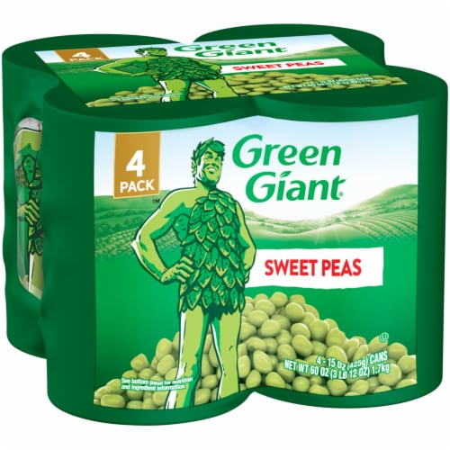 Green Giant Sweet Peas - 4 Pack Perspective: front