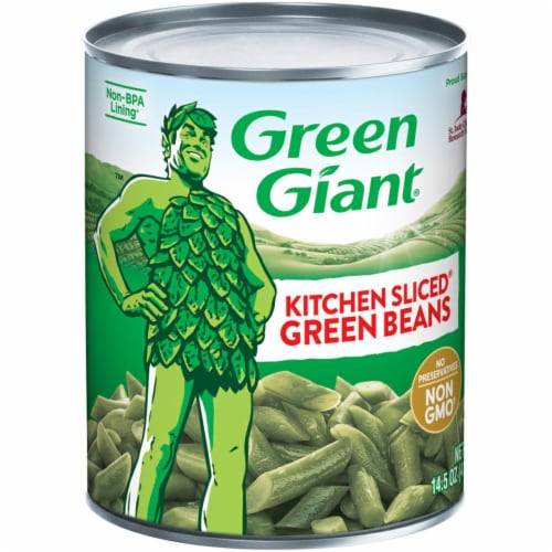 Green Giant Kitchen Sliced Green Beans Perspective: front