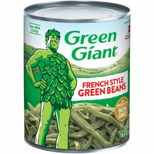 Green Giant French Style Green Beans Perspective: front