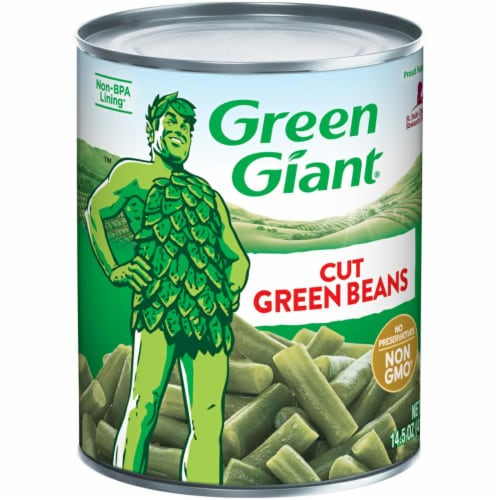 Green Giant Cut Green Beans Perspective: front