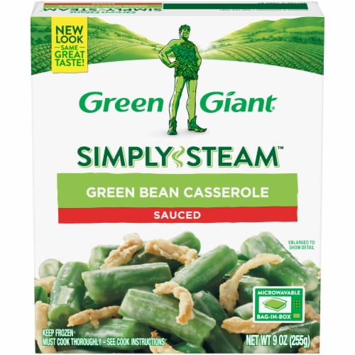 Green Giant Steamers Green Bean Casserole Perspective: front