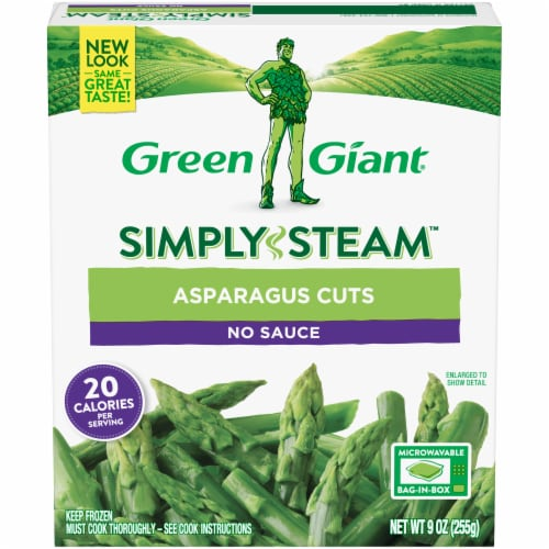 Green Giant Steamers Asparagus Cuts Perspective: front