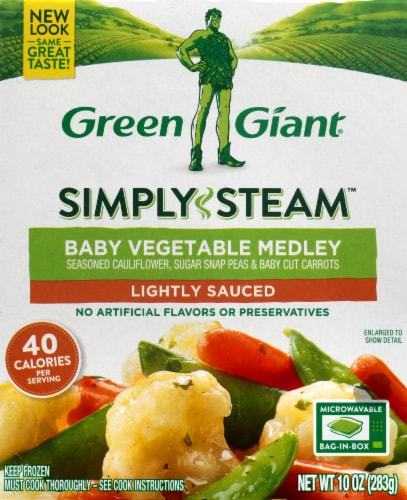 Green Giant Baby Vegetable Medley Perspective: front