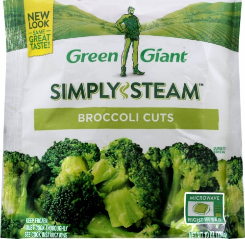 Green Giant Valley Fresh Steamers Broccoli Cuts Perspective: front