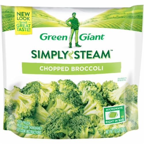 Green Giant Valley Fresh Steamers Chopped Broccoli Perspective: front