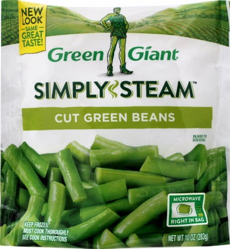 Green Giant Valley Fresh Steamers Cut Green Beans Perspective: front