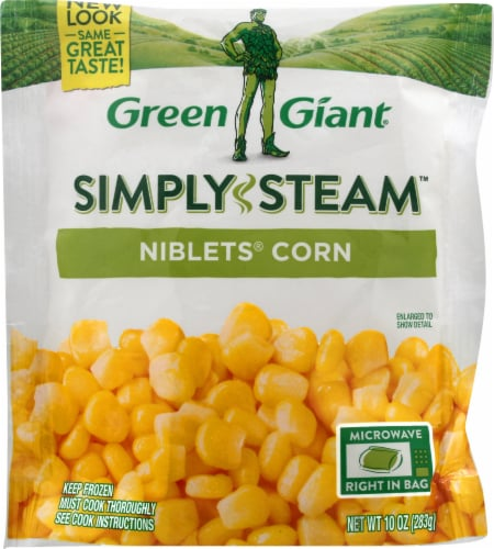 Green Giant Valley Fresh Steamers Niblets Corn Perspective: front