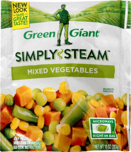 Green Giant Simply Steam Mixed Vegetables Perspective: front