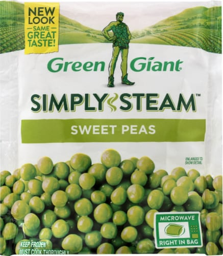 Green Giant Simply Steam Sweet Peas Perspective: front