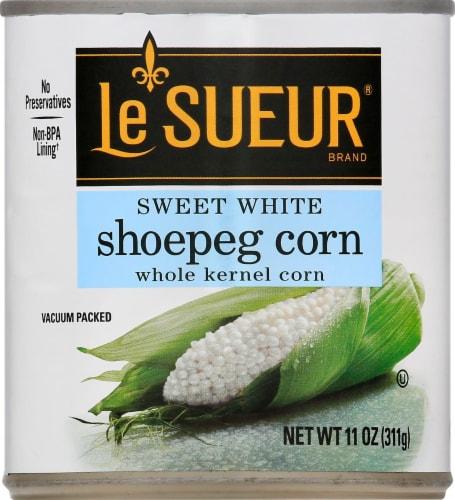Le Sueur Tender White Whole Kernel Shoepeg Corn Perspective: front