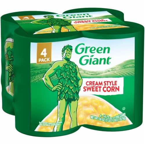 Green Giant Cream Style Sweet Corn - 4 Pack Perspective: front