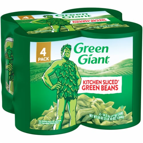 Green Giant Kitchen Sliced Green Beans - 4 Pack Perspective: front