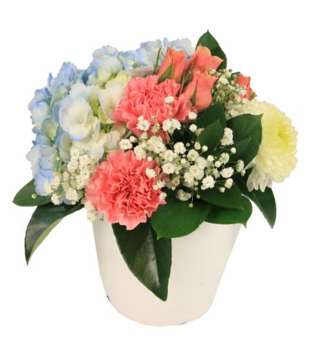 Charming Floral Arrangement Perspective: front