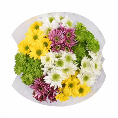 Wellness Pompon Bouquet Perspective: front