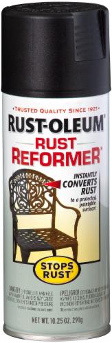 Rust-Oleum Stops Rust® Rust Reformer Spray Paint - Black Perspective: front