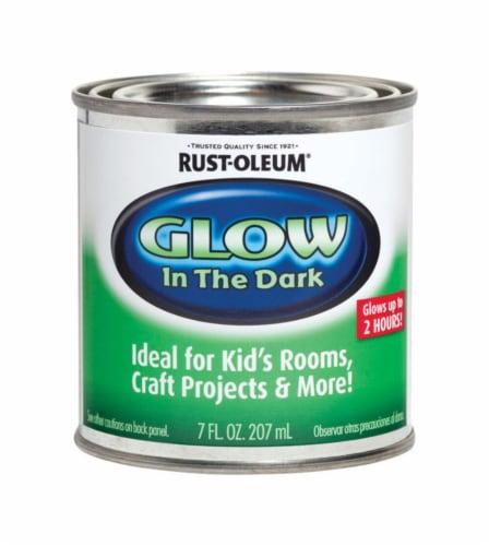 Rust-Oleum® Glow-in-Dark Paint Perspective: front