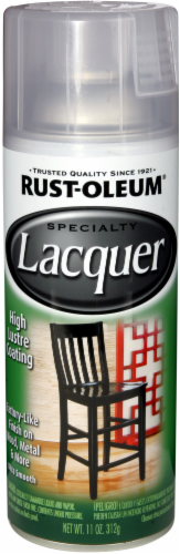 Rust-Oleum® Clear Specialty Lacquer Spray Paint Perspective: front