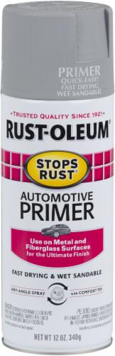 Rust-Oleum Stops Rust® Automotive Primer Spray Paint - Light Gray Perspective: front