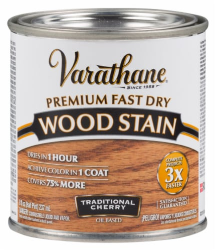 Varathane® Premium Fast Dry Traditional Cherry Oil Based Wood Stain Perspective: front