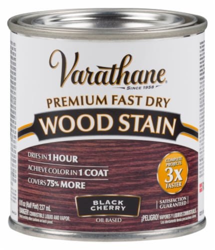 Varathane® Premium Fast Dry Black Cherry Oil Based Wood Stain Perspective: front