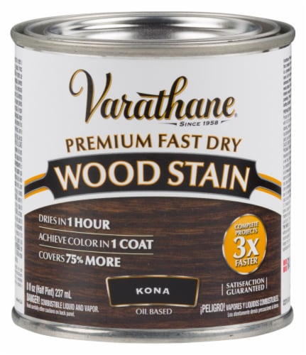 Varathane® Premium Fast Dry Kona Oil Based Wood Stain Perspective: front