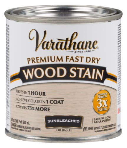 Varathane® Premium Fast Dry Sunbleached Oil Based Wood Stain Perspective: front