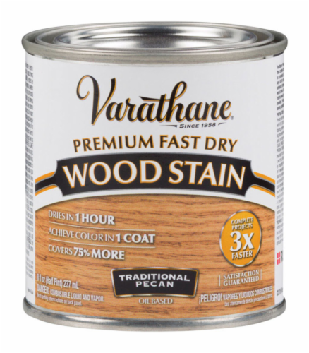 Varathane® Traditional Pecan Oil-Based Wood Stain Perspective: front