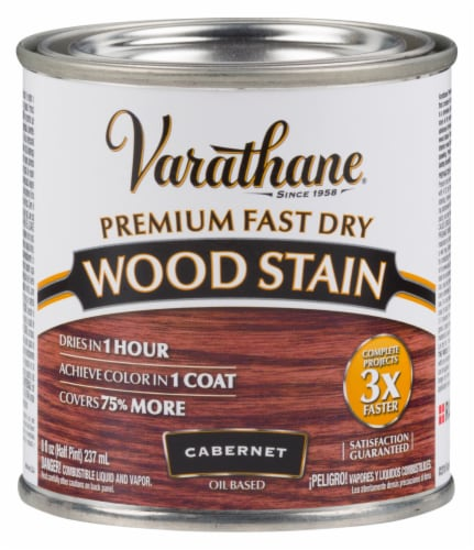 Varathane® Premium Fast Dry Cabernet Oil Based Wood Stain Perspective: front