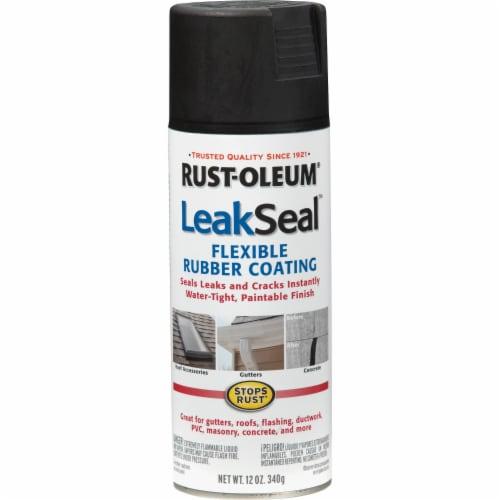 Rust-Oleum LeakSeal® Flexible Rubber Coating Spray - Black Perspective: front